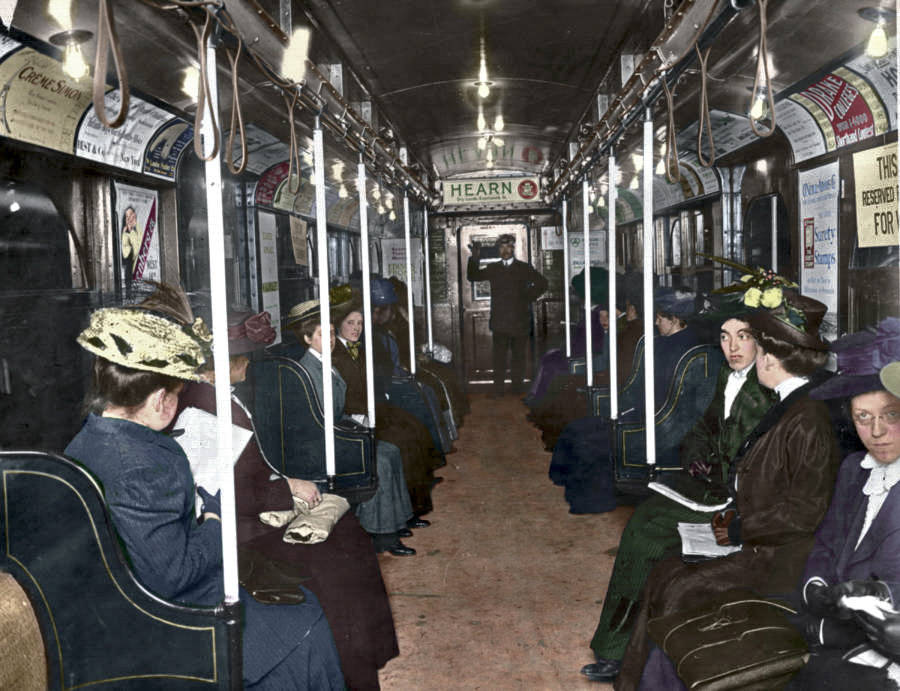 Vintage New York Subway Car