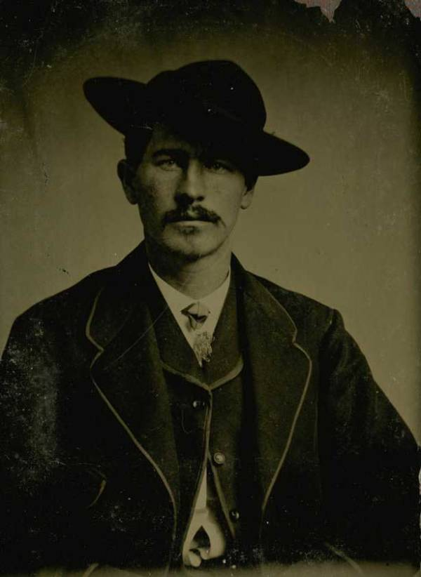 Wyatt Earp In The 1870s