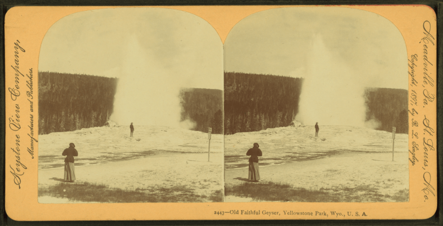 Yellowstone In The 1800s