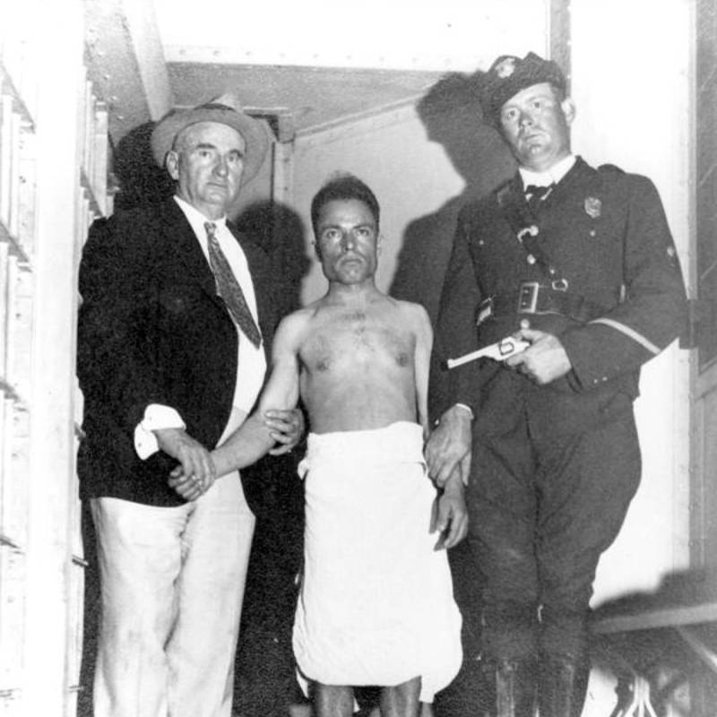 Giuseppe Zangara Arrested
