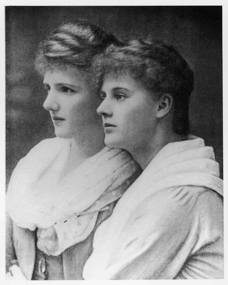 Constance Markievicz and Eva Gore Booth