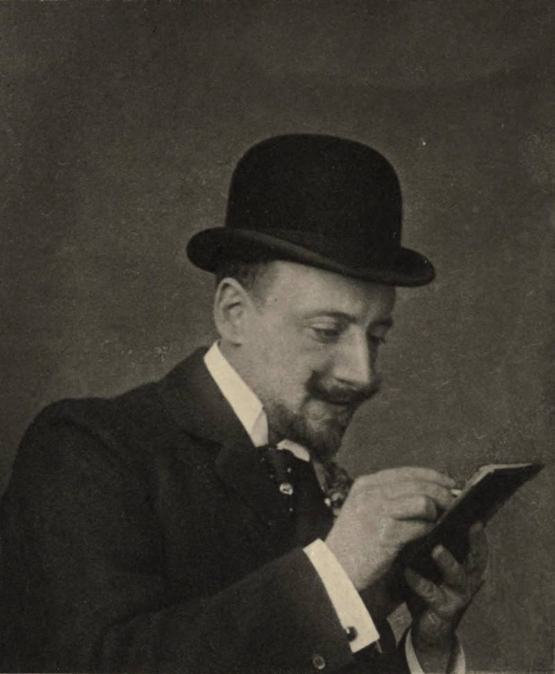 Gabriele D'Annunzio Writing