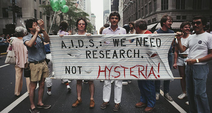 Aids Research Sign Hysteria