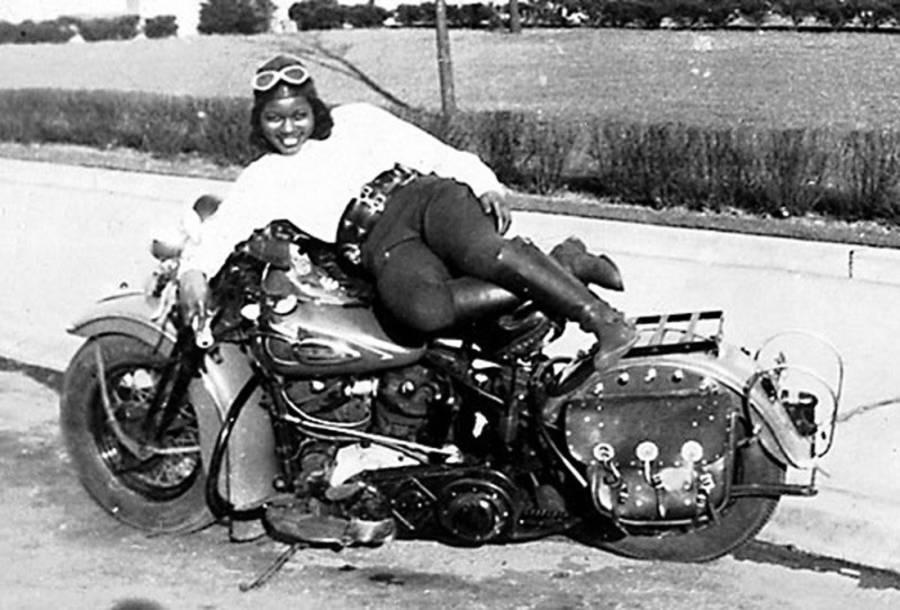 Bessie Stringfield Motorcycle