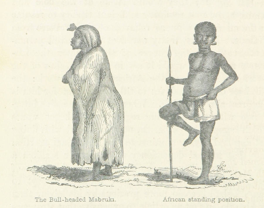 Illustration Of Africans By Richard Burton