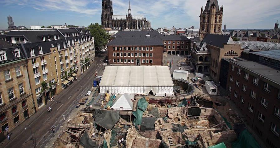 Cologne Roman Praetorium