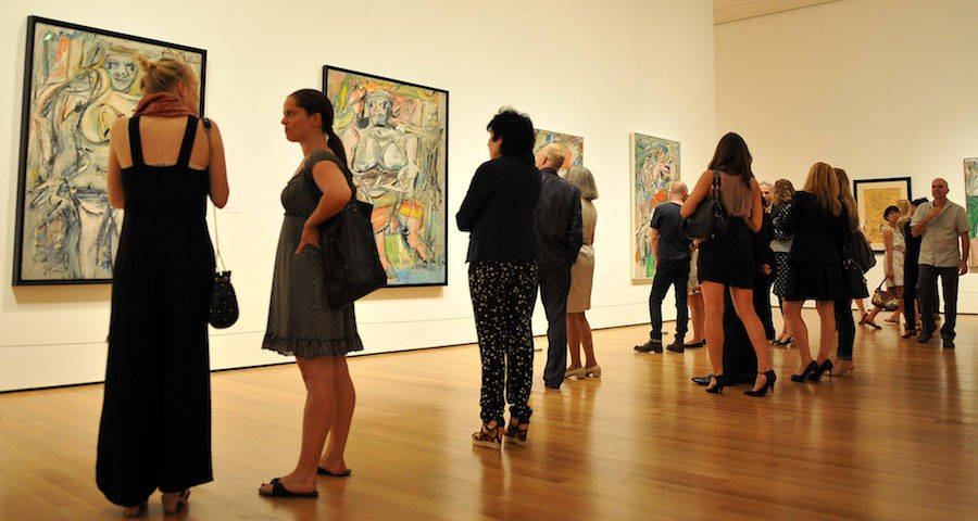 De Kooning At The Museum of Modern Art