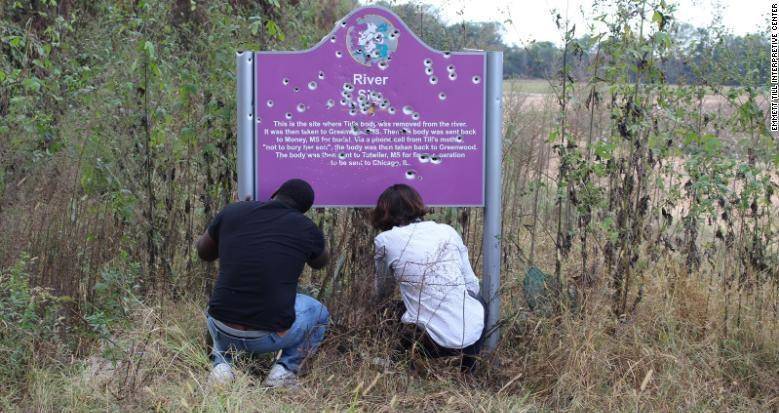 Emmett Till Second Sign