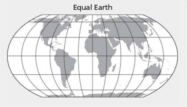 New Equal Earth World Map Could Be One Of The Most Accurate Ever