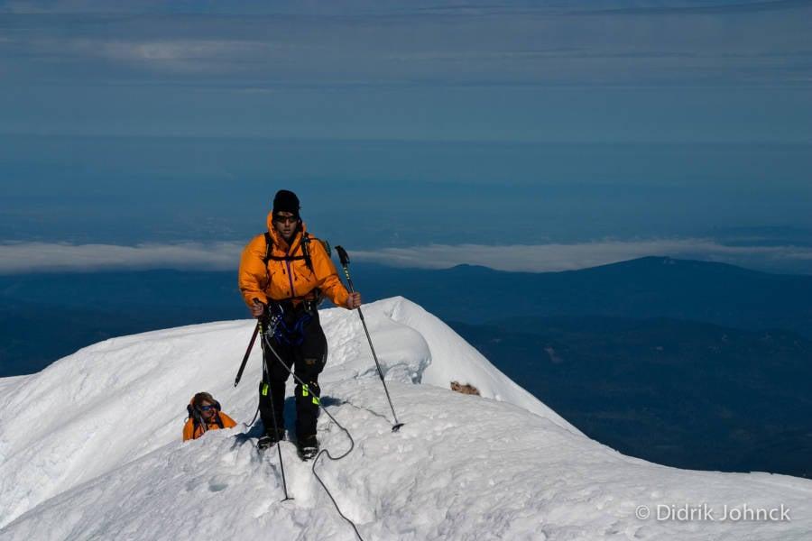 Erik Weihenmayer Mount Hood