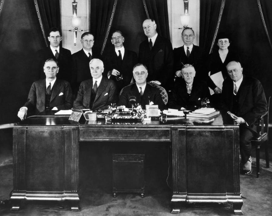 Fdr Cabinet