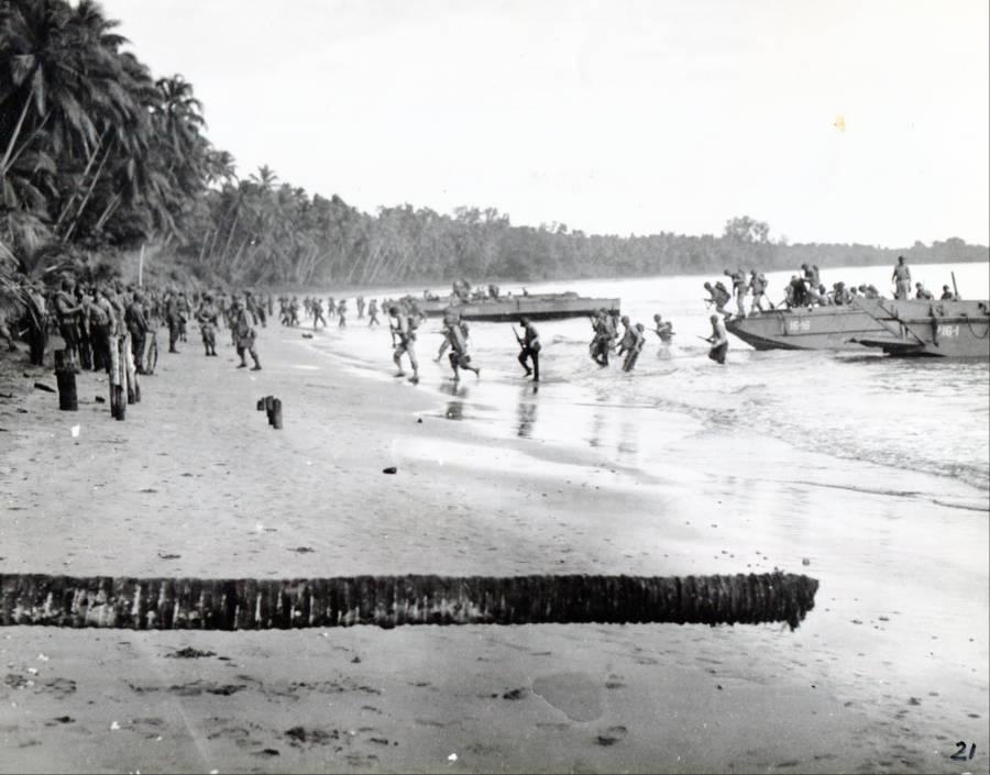 Guadalcanal Landing