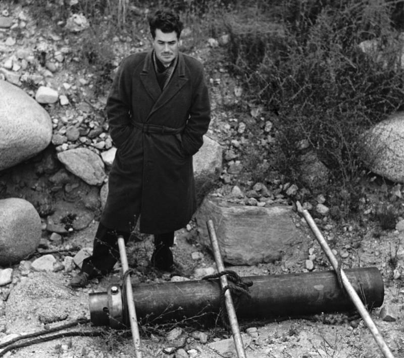 Jack Parsons Standing Outside
