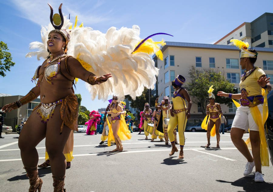 Juneteenth Dancers In San Francisco