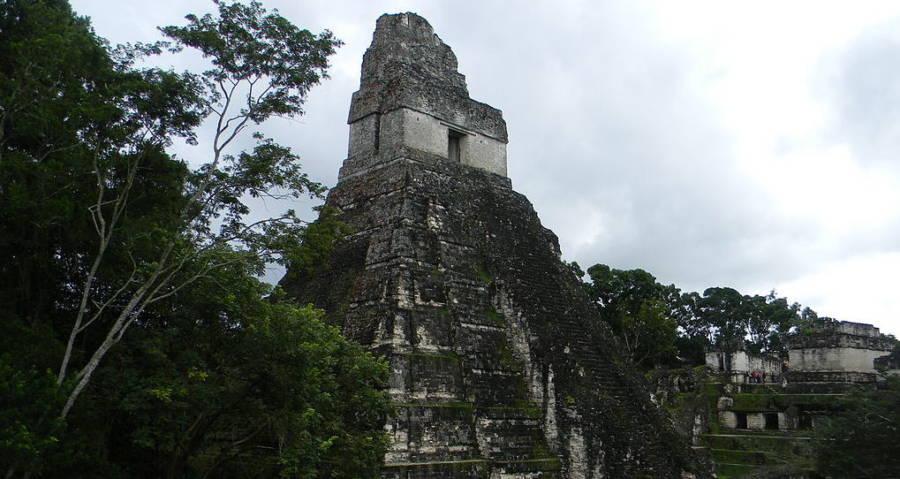 Tikal Mayan City