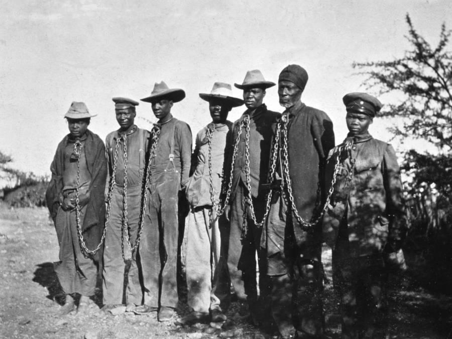 Namibian Prisoners