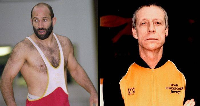 John du Pont and Dave Schultz