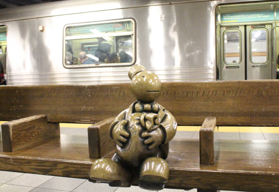 Tom Otterness Bench