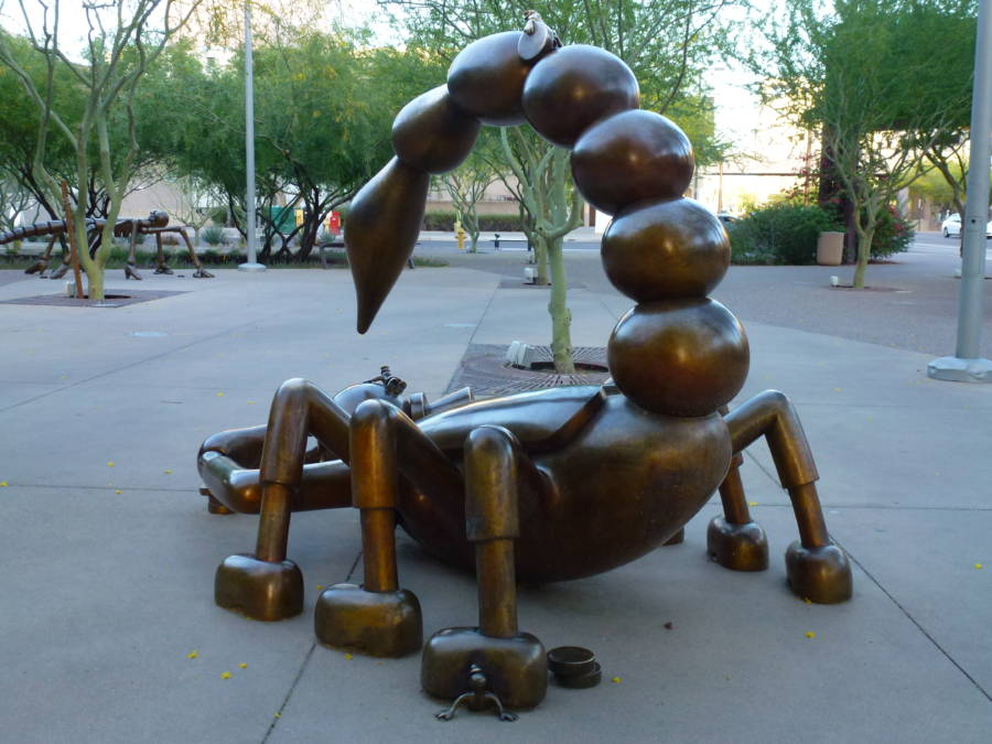 Tom Otterness Scorpion