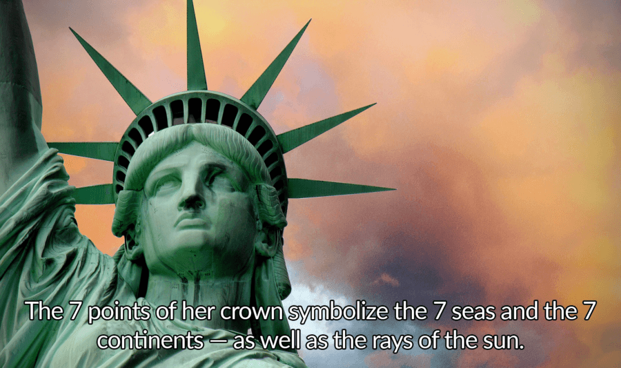 Statue Of Liberty Facts Points