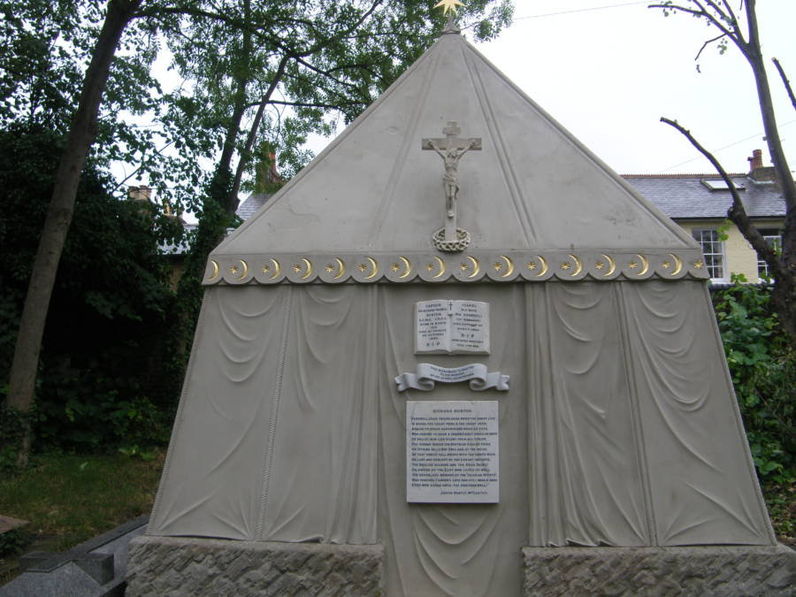 Richard Francis Burton's Tomb