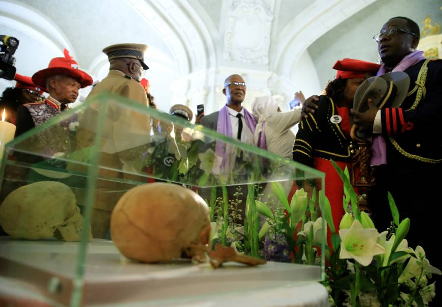 Skull Of Genocide Victim