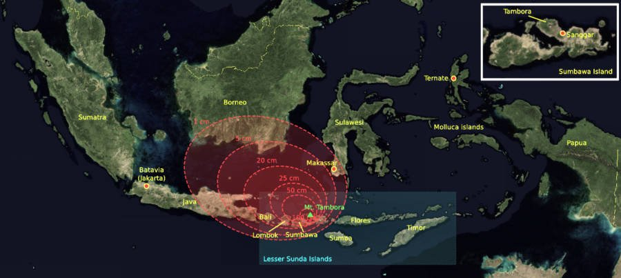 Tambora Eruption
