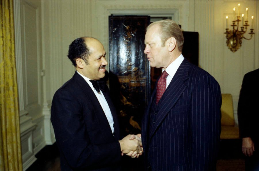 The Butler With Gerald Ford