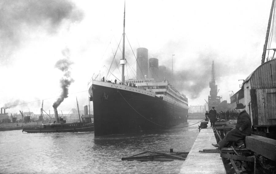 Titanic At Southampton
