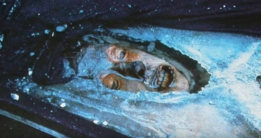Torrington Mummy Ice Grave