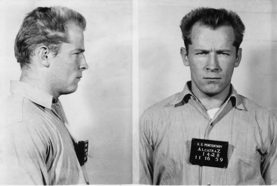 James Whitey Bulger 1959 Mugshot