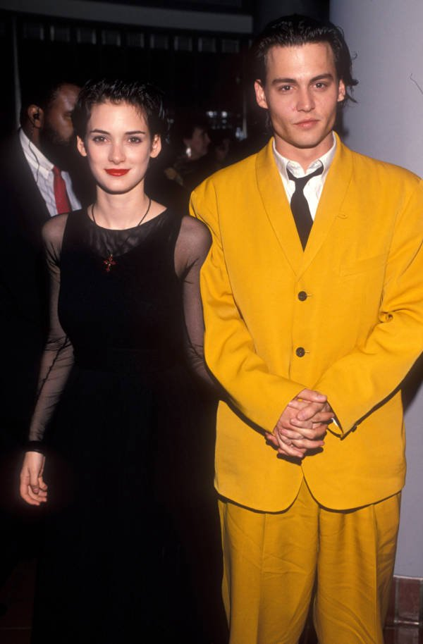 Winona Ryder Johnny Depp