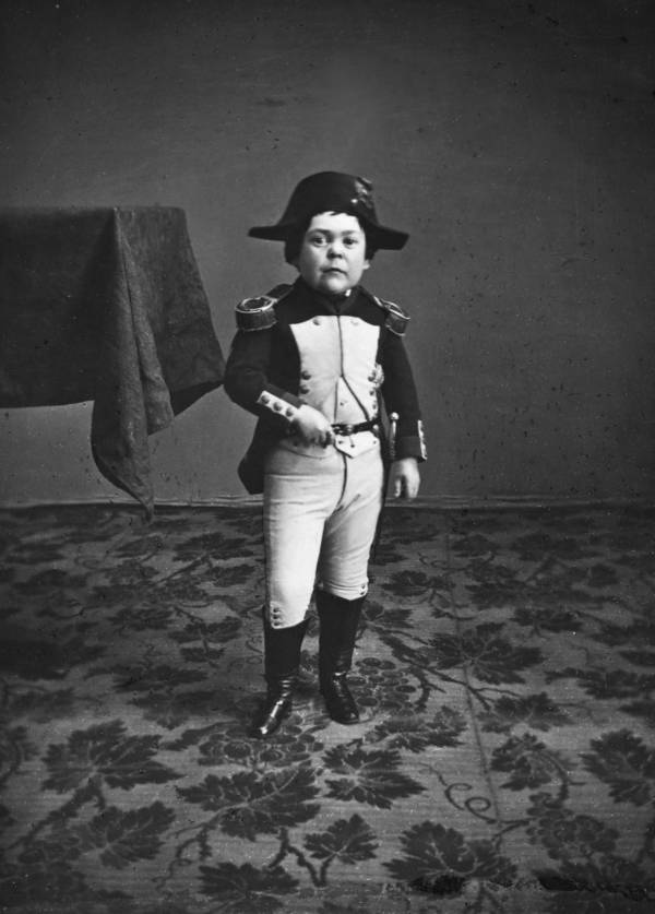 General Tom Thumb As Napoleon