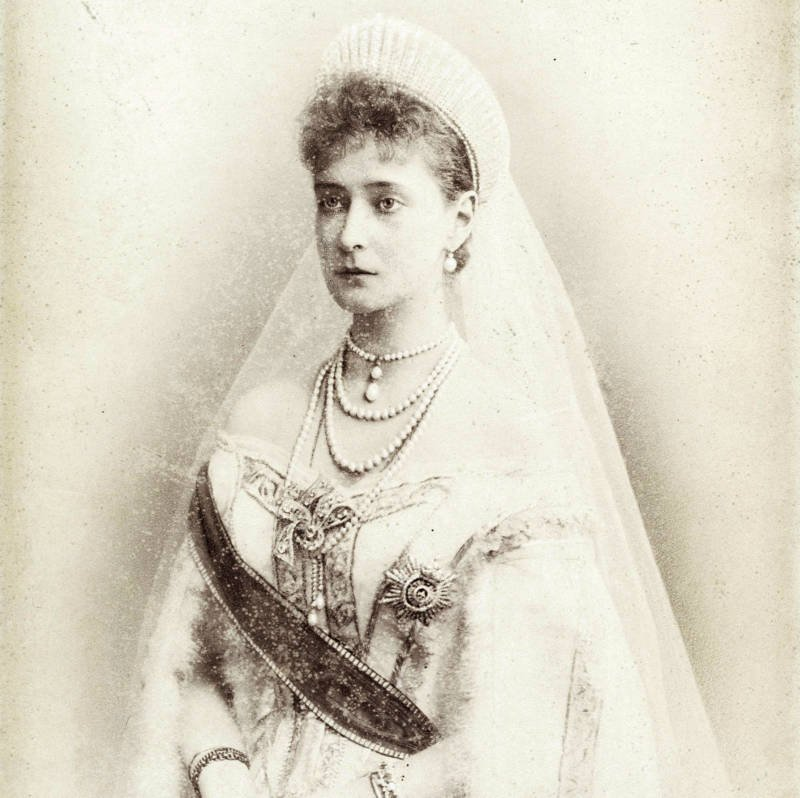 Alexandra Feodorovna Wedding In 1894