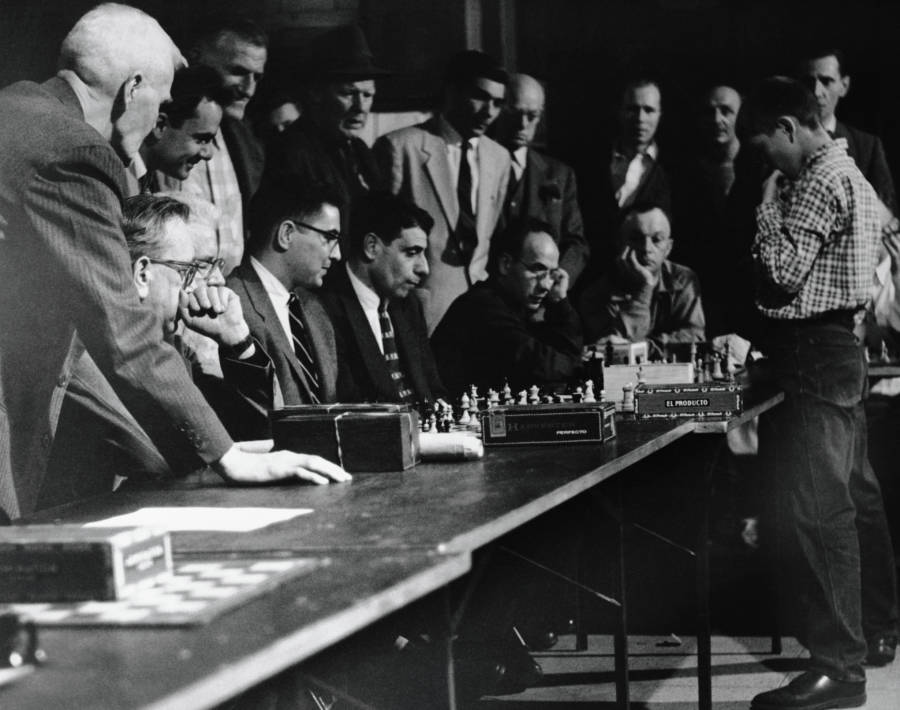 Bobby Fischer At Thirteen