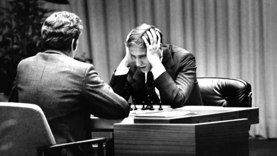 Bobby Fischer Plays Boris Spassky