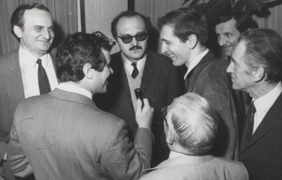 Bobby Fischer In Belgrade