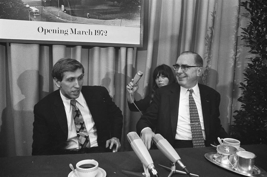 Bobby Fischer In 1972