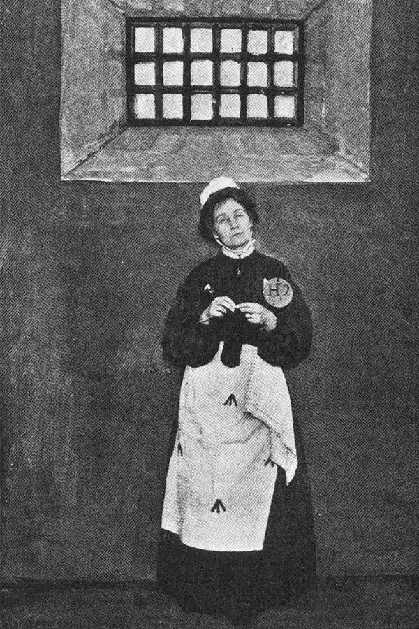 Pankhurst In Prison