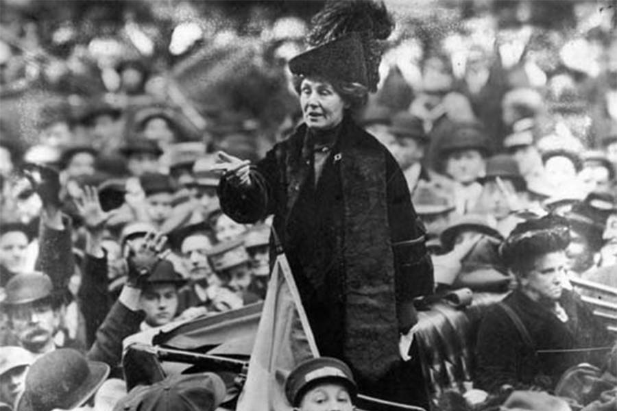 Suffragette Speech