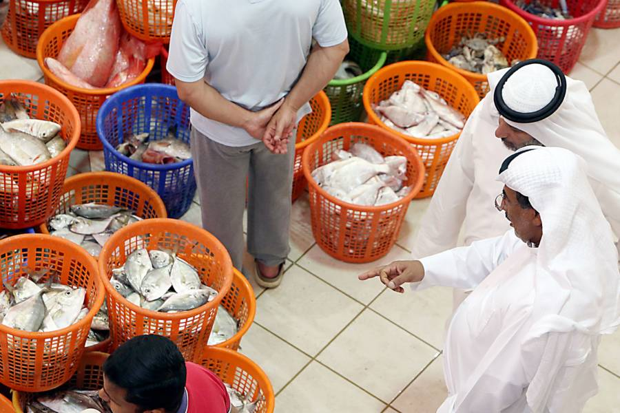 Fish In Kuwaiti Market