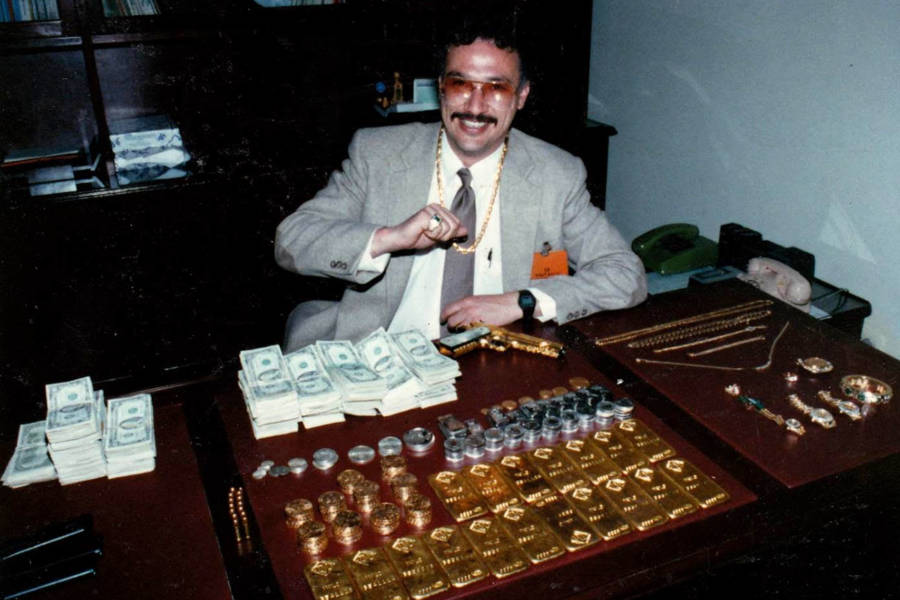 Javier Peña With Money