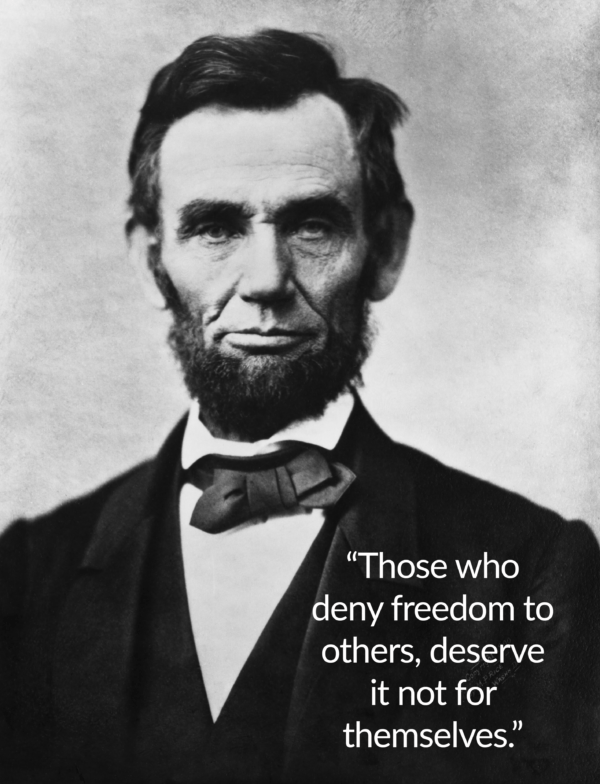 Lincoln Quote On Freedom