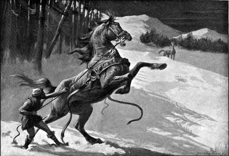 Norse Gods Loki And Svaldifari