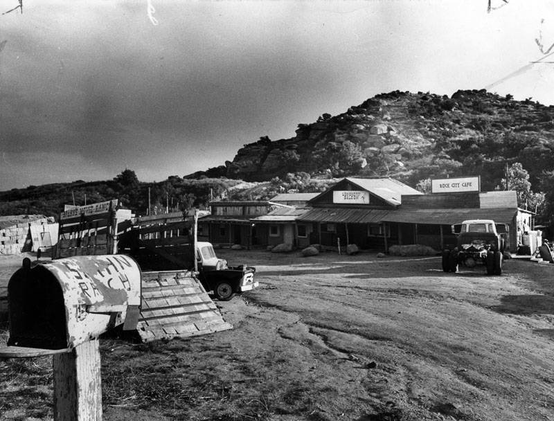 Manson Family Compound At Spahn Ranch