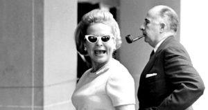 Martha Mitchell Wearing Sunglasses
