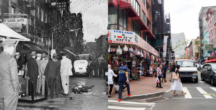 8 Infamous Mafia Murder Scenes In New York City Then And Now