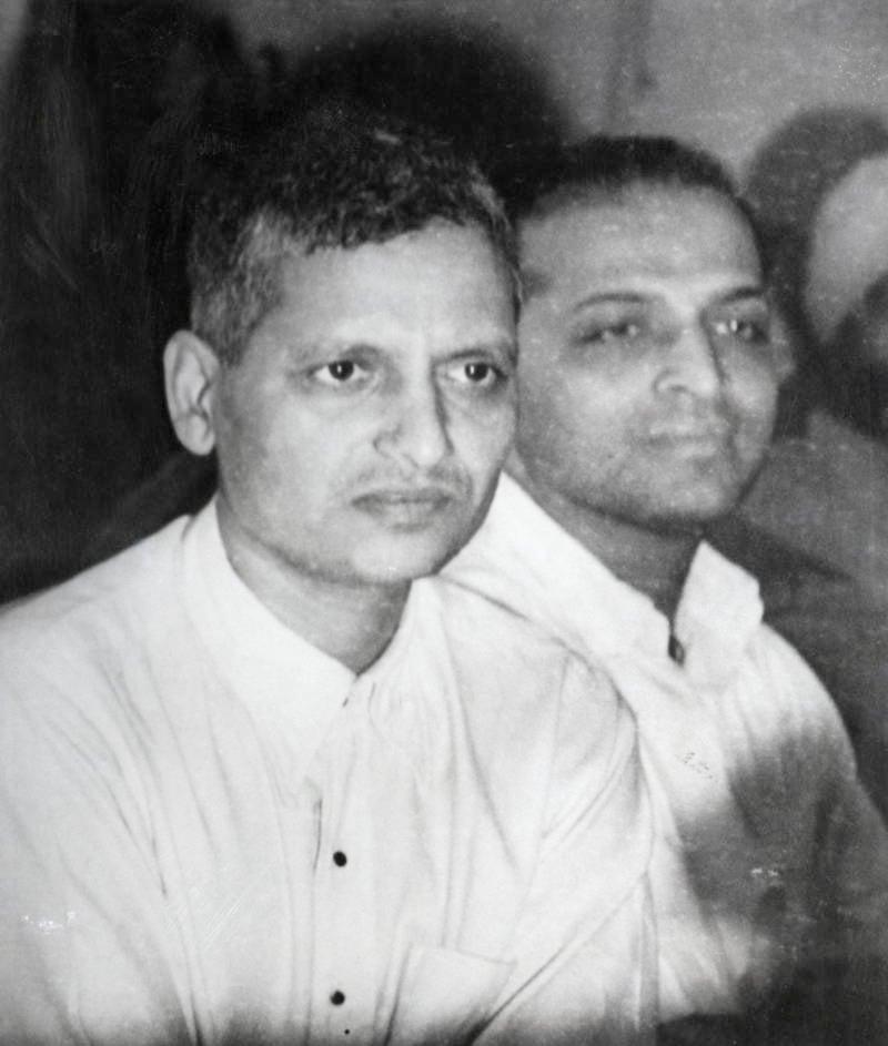 Nathuram Godse and Narayan Dattatraya Apte