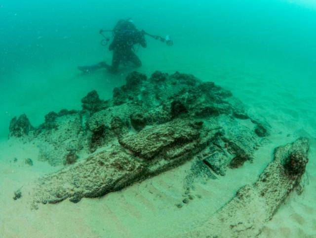 Sunken Ship Near Portugal