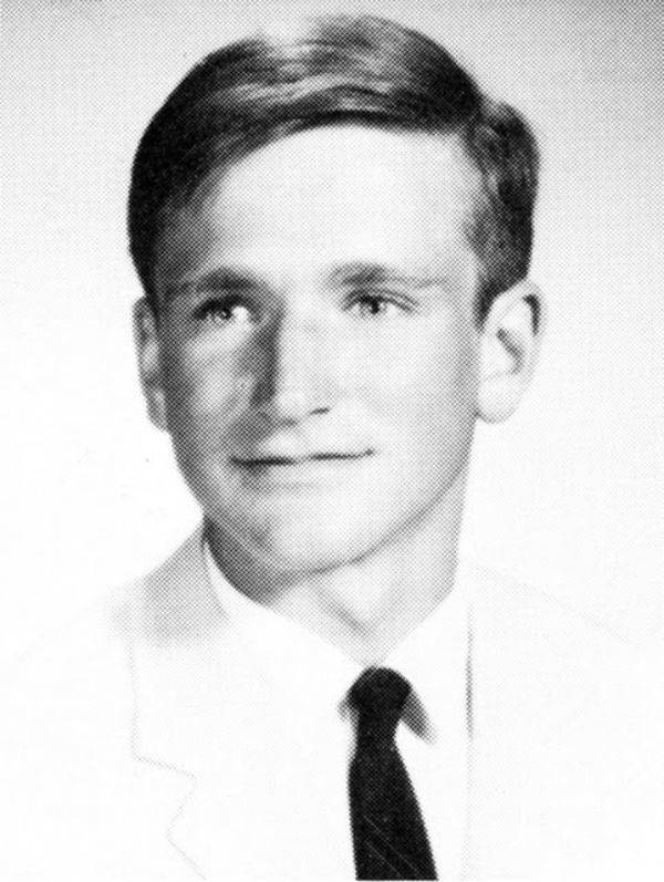 Robin Williams Celebrities When They Were Young